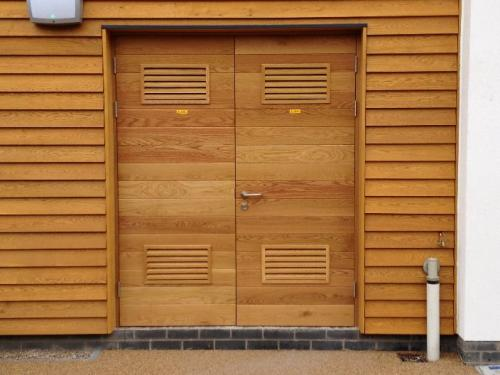 natural wood cladding external