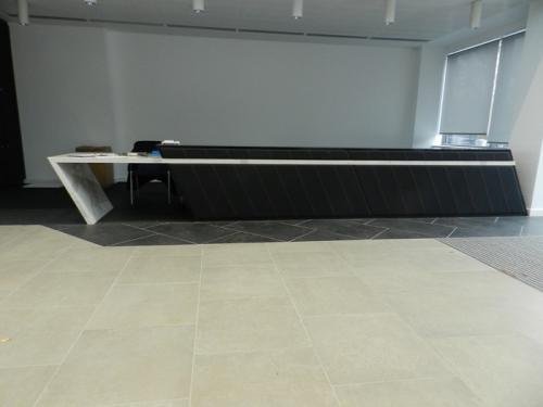 long reception desk