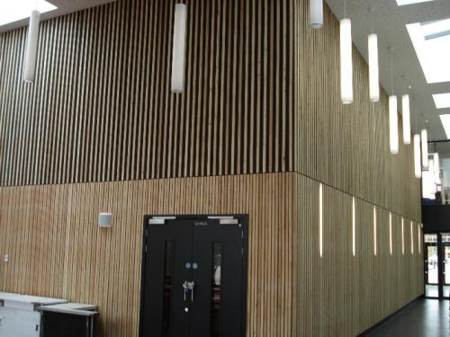 wooden cladding 2 levels